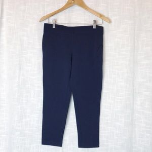 Express Stretch Capri Leggings Navy Blue